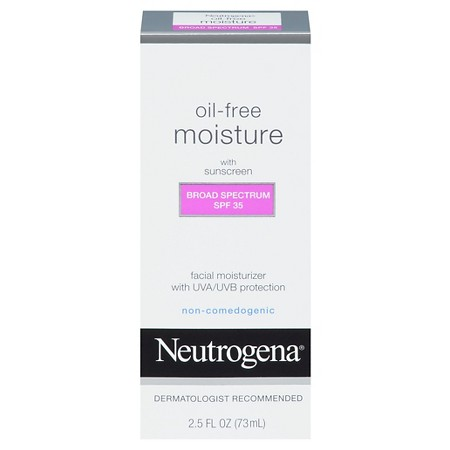 Neutrogena Oil-Free Moisture Broad Spectrum 35 is a great acne-proof moisturizer to use on a daily basis. (Photo: Target)