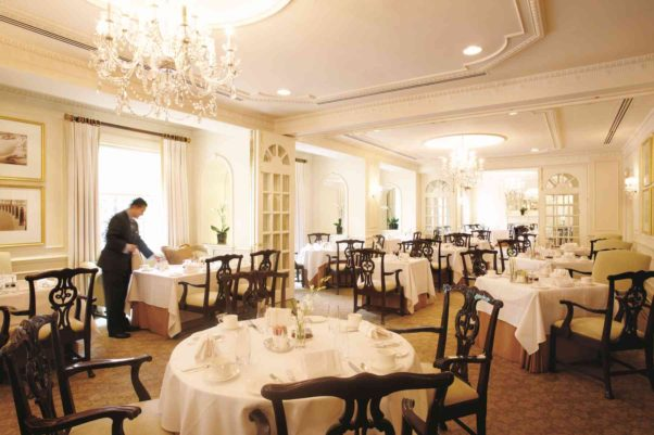 The Lafayette Room at the Hay-Adams hotel is serving a three-course prix fixe fall menu this week. (Photo: Hay-Adams Hotel)