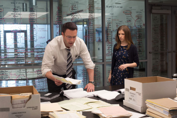 """""""The Accountant,"""" starring Ben Affleck and Anna Kendrick, opened at the top of the box office over the weekend with $24.71 million. (Photo: Chuck Zlotnick/Warner Bros. Entertainment)"""