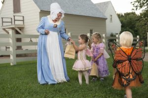 Take the kids trick-or-treating at Mount Vernon on Saturday. (Photo: George Washington's Mount Vernon)