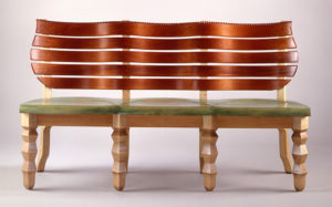 The American Fine Craft Show at the D.C. Armory features handmade furniture. (Photo: American Fine Craft Show)
