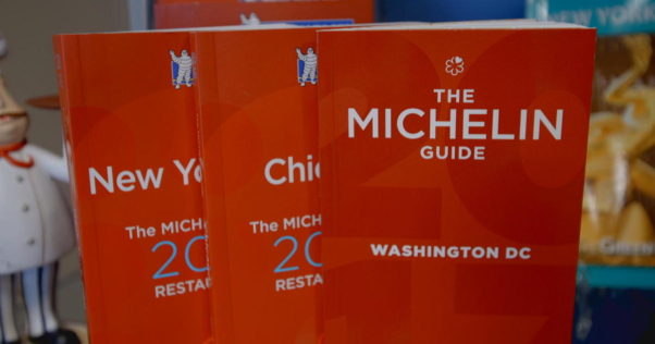 The new Michelin Guide for Washington, D.C. is out and there are no three-star winners, although 12 restaurants ranked one or two stars. (Photo: Michelin Guide)