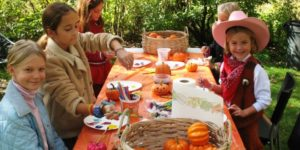 Kids can dress up and hunt for treats in Tudor Place's North Garden. (Photo: Tudor Place)