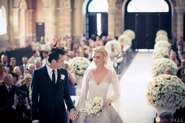 Planning a wedding can be overwhelming. Shopping online can help. (Photo: Thiago Bellini/Vogue)