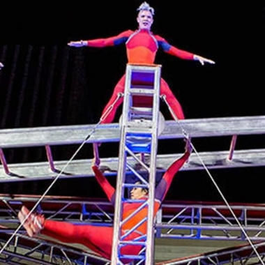 Modern dance company STREB performs at the Kennedy Center on Saturday. (Photo: STREB)