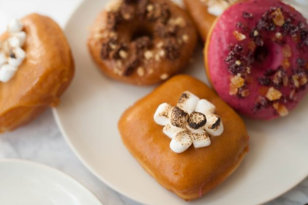 Astro Doughnuts and Fried Chicken is offering fall doughnuts. (Photo: Rachel Lyn Photography)