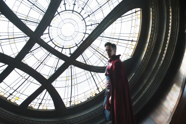 """""""Doctor Strange"""" held on to its top spot at the box office last weekend with $42.97 millon, but is expected to fall next weekend with the opening of """"Fantistic Beasts and Where to Find Them."""" (Photo: Jay Maidment/Marvel)"""