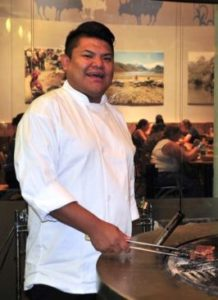 Freddie Bitsoie is the first Native American chef at the Mitistam Café, (Photo:National Museum of the American Indian)