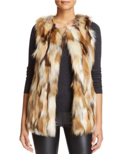 Faux fur is on fire this winter. (Photo: Lyst)