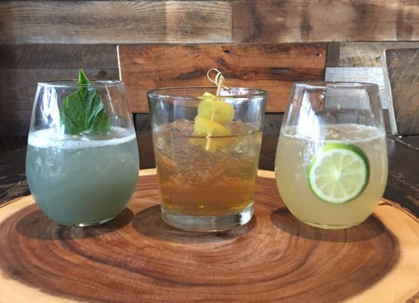 Texas Jack's new fall cocktails include the Ghost of Jack (l to r), Pure Smoke Old Fashion and In the Lime Light. (Photo: Texas Jack's)