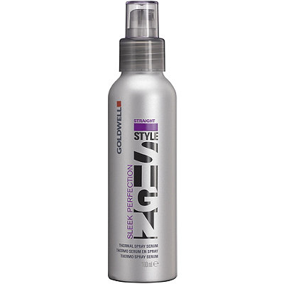 Goldwell Stylesign Sleek Perfection Thermal Spray is more pricey but offers more benefits. (Photo: Ulta)
