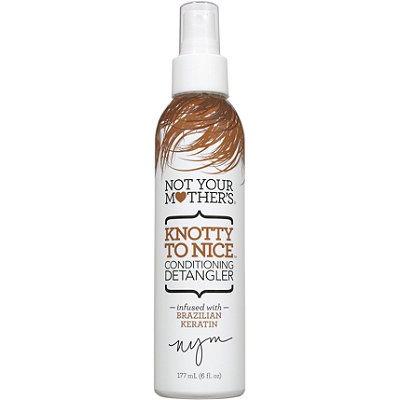 Not Your Mother's Knotty to Nice Conditioning Detangler doesn't weigh your hair down and leaves it shiny. (Photo: Ulta)