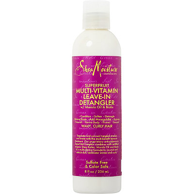 SheaMoisture Superfruit Multi-Vitamin Leave-in Detangler smells great and does more than just detangle knots. (Photo: Ulta)