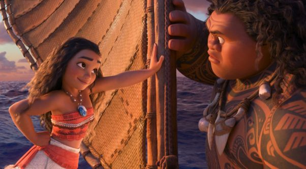 Disney's Moana opened in first place over the Thanksgiving weekend with $56.63 million. (Photo: Disney)