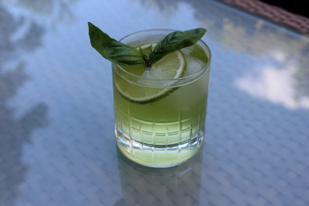 "The Grill Room's ""The Green Card"" cocktail. (Photo: The Grill Room)"