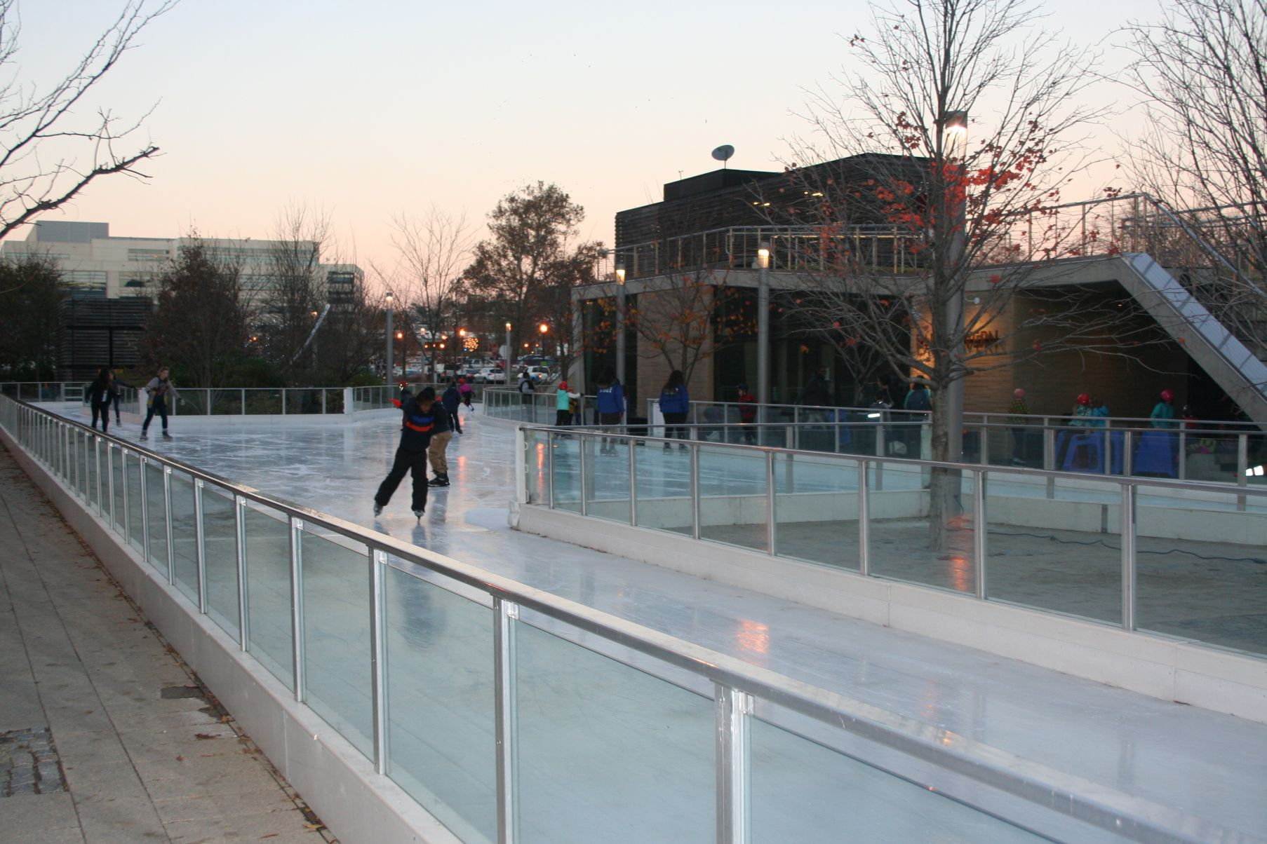 Area ice skating rinks open for the season dc on heels the canal park ice rink is in the capitol riverfront neighborhood photo mark solutioingenieria Image collections