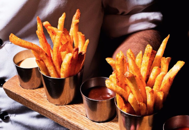 "Bourbon Steak's ""Freedom fries."" (Photo: Bourbon Steak)"