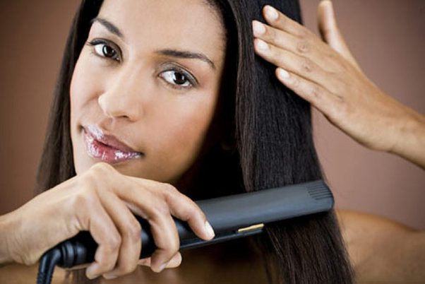 Your heated hair styling tools damage your hair after repeated use. (Photo: Masterfile)