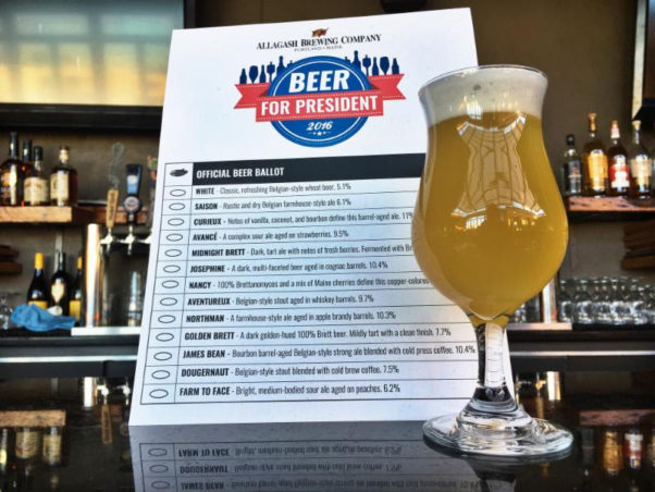 Vote for your favorite Allagash brew at Jack Rose Dining Saloon. (Photo: Jack Rose Dining Saloon)