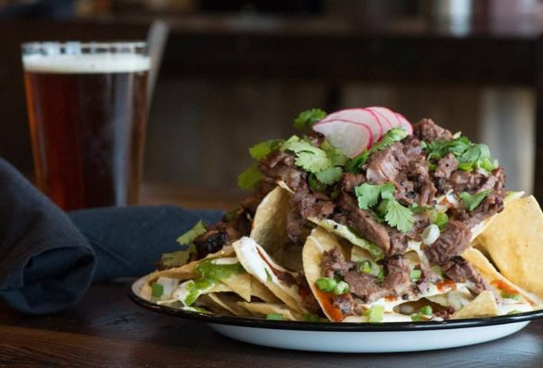 Texas Jack's Barbecue will be serving $5 87 Cutlass Supreme nachos with pulled pork or barbecue brisket. (Photo: Texas Jack's Barbecue)