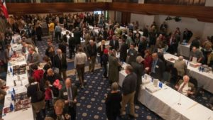 Shoppers at last year's National Press Club Book Fair and Author's Night. (Photo: Noel St. John)