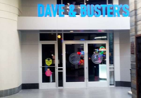 Dave & Buster's opens Monday, Nov. 21, on the fifth floor of Ellsworth Place across from Burlington Coat Factory in Silver Spring. (Photo: Mark Heckathorn/DC on Heels)