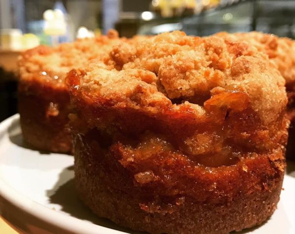 RareSweets has added several fall sweets to its menu including pear cardamom coffee cakes. (Photo: RareSweets)