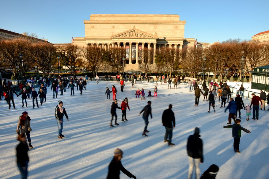 Area Ice Skating Rinks Open For The Season Dc On Heels
