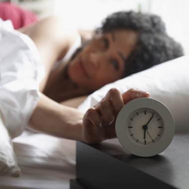 Chronic sleep deprivation can cause weight gain or depression. (Photo: Getty Images)