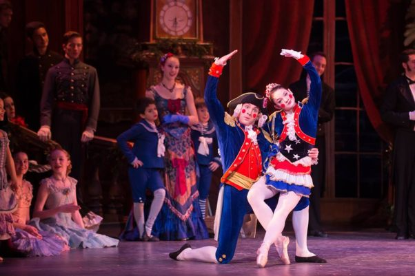 The Washington Ballet's rendition of The Nutcracker includes a Washington twist. (Photo: National Ballet)