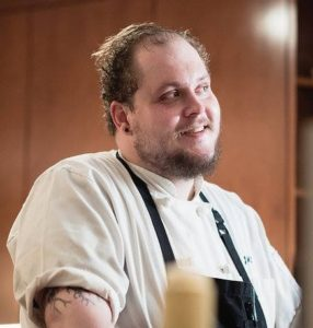 John Kerschensteiner is the new chef de cuisine at The Fainting Goat. (Photo; John Kerchensteiner/Facebook)