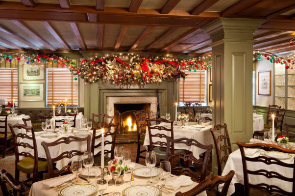 1789 Restaurant will serve a seasonal a la carte menu from 4-10 p.m. Christmas Eve  in its decked out dining rooms. (Photo: 1789 Restaurant)