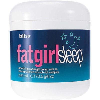 Bliss' Fatgirlsleep Overnight Skin Firming Cream will help rid your body of water retention while keeping your skin firm, yet smooth. (Photo: Ulta Beauty)