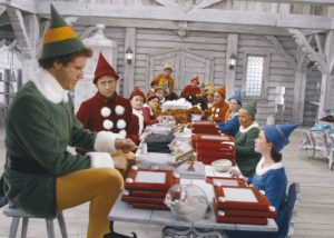 Will Ferrell star in <em>Elf</em>, playing at the Arlington Cinema & Drafthouse at 1 p.m. Sunday. (Photo: Warner Bros. Pictures)