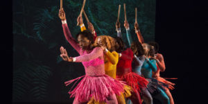 Dance Place's annual Kwanzaa celebration honors the seven principles of the holiday. (Photo: Enoch Chan)