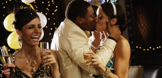 Who needs a New Years kiss anyways? (Photo: Alfa Photo)