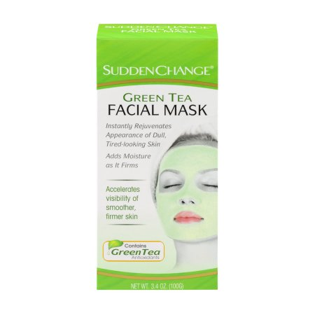 Sudden Change Green Tea Facial Maskhelps rejuvenate your skin.(Photo: Walmart)
