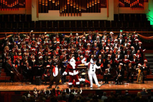 The Choral Society of Washington presents an afternooon of Christmas caroles on Christmas Eve. (Photo: Choral Arts Society of Washington)