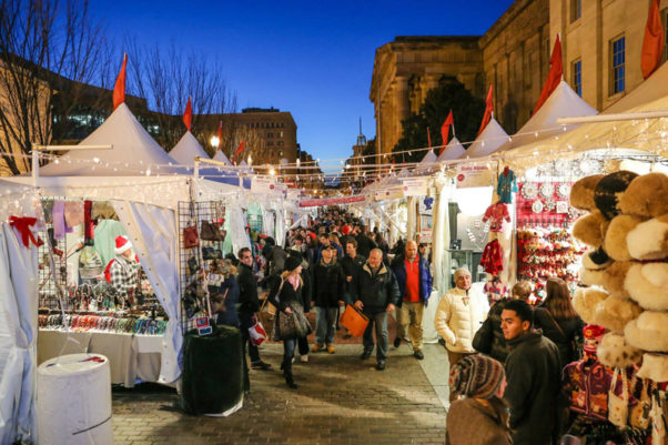 The Downtown Holiday Market in Penn Quarter features more than 150 vendors. (Photo: Downtown Holiday Market)