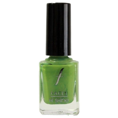Faces Hi Shine Nail Enamel in Kermit Green is the pop of color you need to liven up any outfit. (Homeshop18)