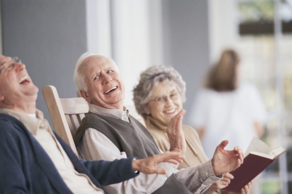 Moving into an assisted living facility can be a big change. (Photo: Thinkstock)