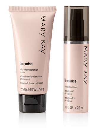 Mary Kay's TimeWise Microdermabrasion Plus set allows you to do your own microdermabrasion facial at home. (Photo: Mary Kay)