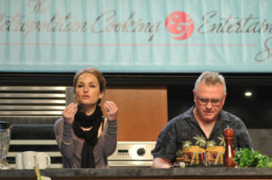 Giada de Laurentiis does a cooking presentation at a past Metropolitan Cooking and Entertaining Show. (Photo: Metropolitan Cooking & Entertaining Show)
