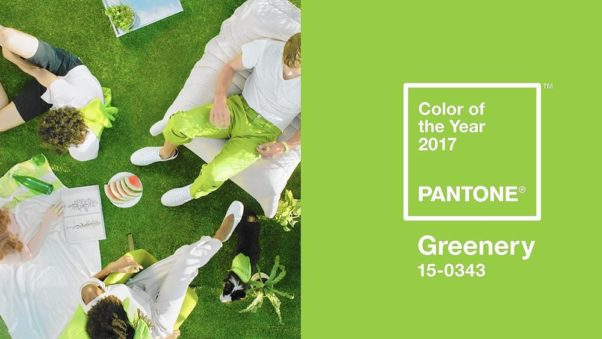 "The Pantone Color Intitute has chosen ""Greenery,"" a zesty yellow-green,  as it color of the year for 2017. (Photo: Pantone)"