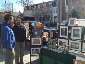 The Upshur Street Arts and Craft Fair features more than 50 vendors selling handmade items. (Photo: Upshur Street Arts and Craft Fair)