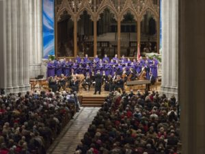 "Tbe Washington National Cathedral's choir performs Handel's ""Messiah"" this weekend. (Photo: Washington National Cathedral)"