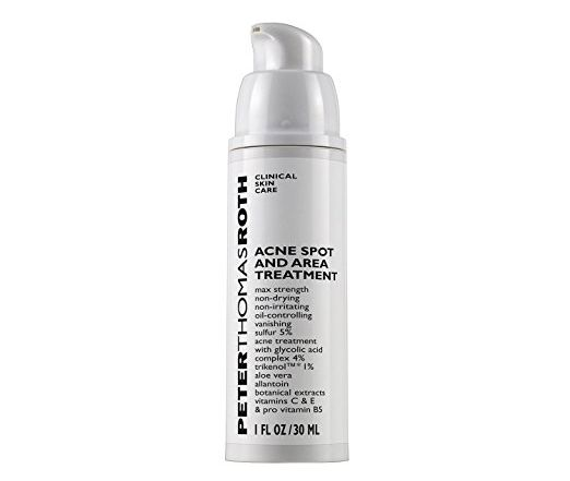 Peter Thomas Roth Acne Spot and Area Treatment eliminates oil in the skin and dries out the blemish. (Photo: Peter Thomas Roth)
