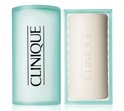 Clinique Acne Solutions Cleansing Face and Body Soap can be used on your body and face. (Photo: Clinique)