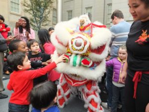 The Smithsonian American Art Museum celebrates the Lunar New Year from 11:30 a.m.-3 p.m. on Saturday. (Photo: Smithsonian American Art Museu