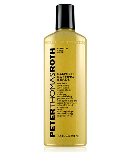 Peter Thomas Roth Blemish Buffing Beads includes jojoba. (Photo: Peter Thomas Roth)